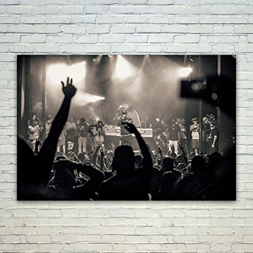 Westlake Art Poster Print Wall Art - People Crowd - Modern P