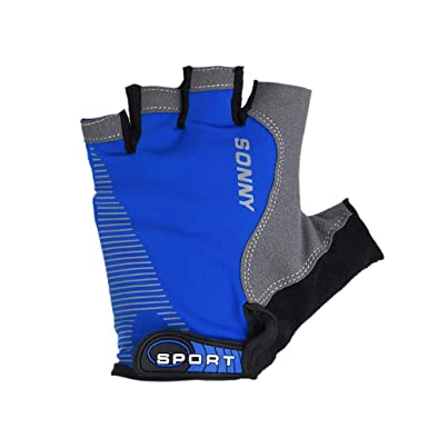 Handschuhe Fingerlose Herren Sport Fahrradhandschuhe Atmungsaktives Atmungsaktiver Sweat Mesh Gloves XXYsm