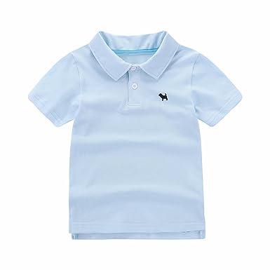 Amazon Com Motecity Fashion Little Boys Turndown Collar Puppy