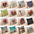 Throw Pillow Cover, DaySeventh Happy Valentine Pillow Cases Cotton Linen Sofa Cushion Cover Home Decor 18x18 Inch 45x45 cm