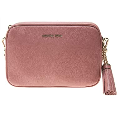 fa9c8454571db Michael Kors Leather Damen Cross Body Bag Pink  Amazon.de  Bekleidung
