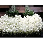 50-Pcs-Single-Artificial-Fake-Wisteria-Vine-Ratta-Silk-Flower-for-Garden-and-Home-Decor-white