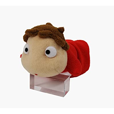 Ponyo Small Size Stuffed Plush Toy (9 x 17 cm) [Japan]: Toys & Games
