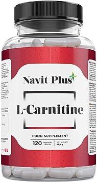 L-CARNITINA PURA | Pérdida de peso y potente quemador de grasa deportivo | Código Nacional Farmacia 194556.3 | Aporte de energía, resistencia y ...
