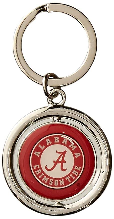 Amazon.com: NCAA Alabama Crimson Tide Spinner Llavero de ...