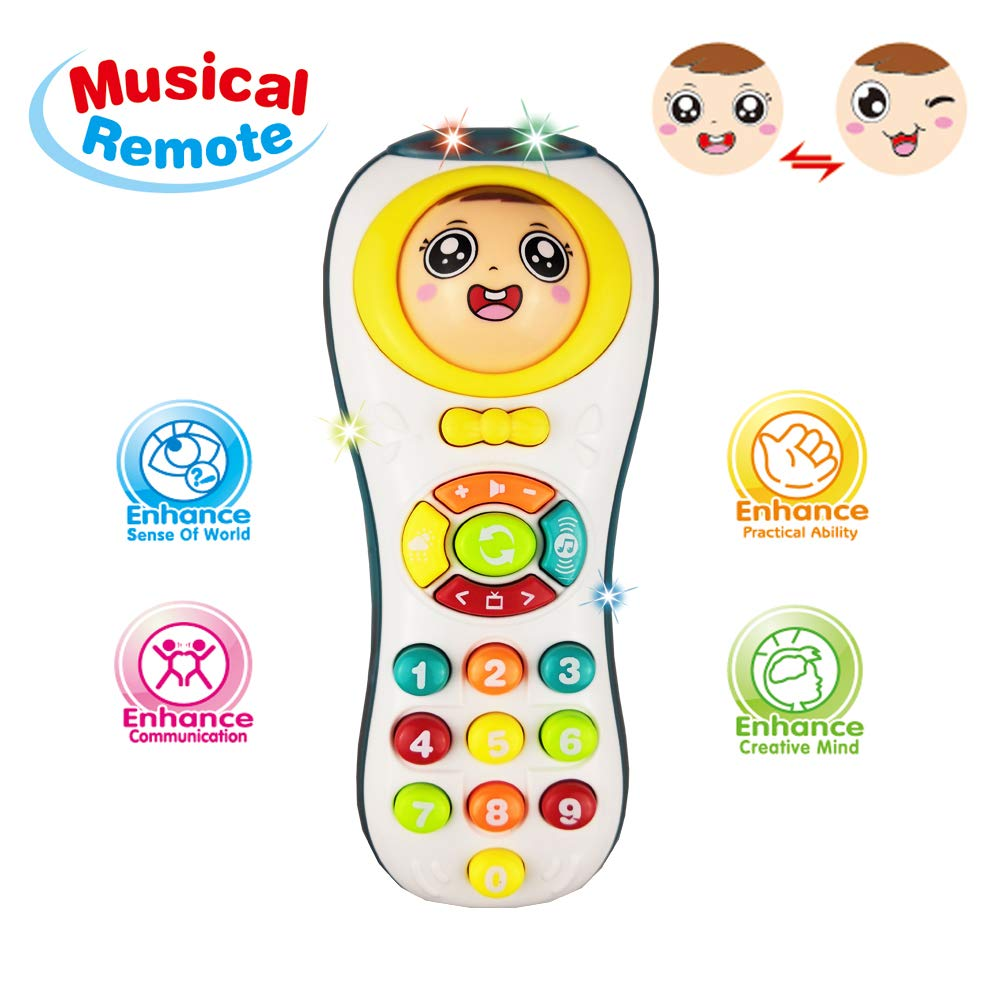 Remote Toys 1 Year Olds Boy Baby Educational Learning 3 Old Girl Boys Toy Gift For 6 18 Months Toddler Age 2 Girls