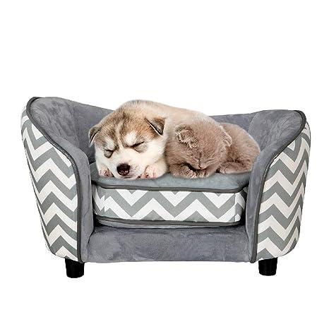 Amazon.com: Sofá ortopédico para mascotas, cama para perro ...