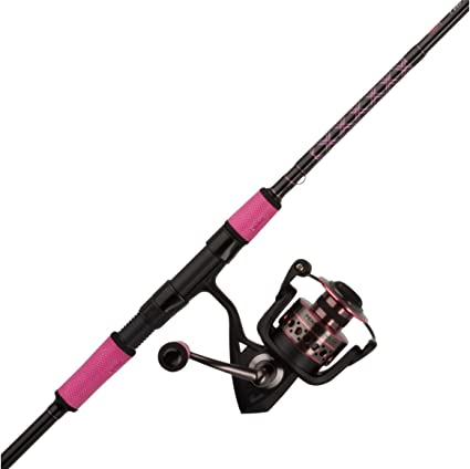 Amazon Com Penn Passion Spinning Reel And Fishing Rod Combo Sports Outdoors
