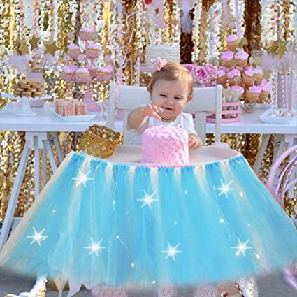 Amazon.com: Goglor 1st Birthday Girl Baby Tutu, 1st Birthday ...