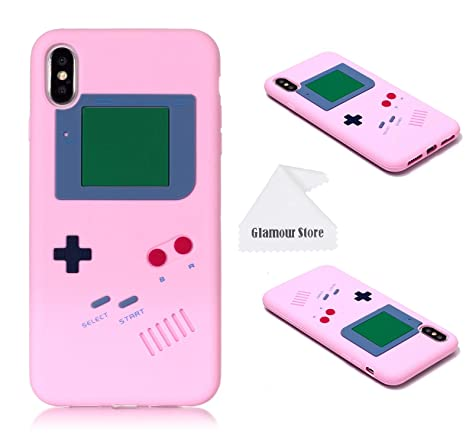 Amazon.com: Carcasa para iPhone Xs Max, retro 3D Game Boy ...