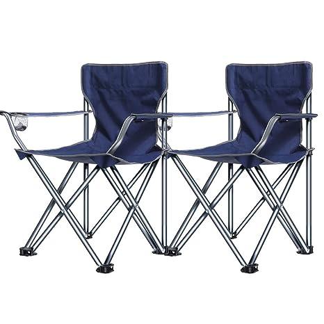 MLX Juego de sillas Plegables para Interiores y Exteriores ...