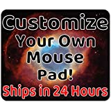Personalized Mouse Pad - Add Pictures, Text, Logo Or Art Design and Make Your own Customized Mousepad. Each Custom Mouse…