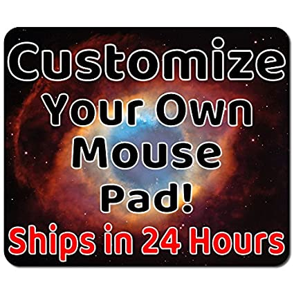 amazon com personalized mouse pad add pictures text logo or