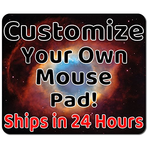 Personalized Mouse Pad - Add pictures, text, logo or art design and make your own customized Mousepad. Each custom mouse mat comes in a colorful gift bag. Personalized your gaming - Pad Custom Mouse Printed