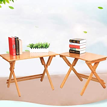 LZY Mesa plegable, Mesa de escritorio de madera de material de ...