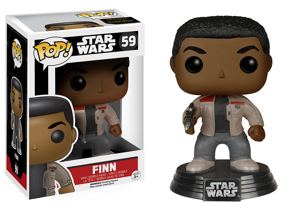 timeless design 5b332 93c53 Star Wars Episode 7 Funko Pop - Finn, Action   Toy Figures - Amazon Canada