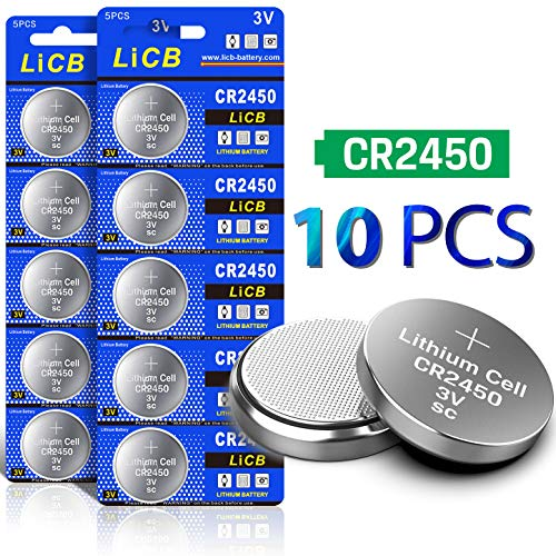 LiCB 10 Pack CR2450