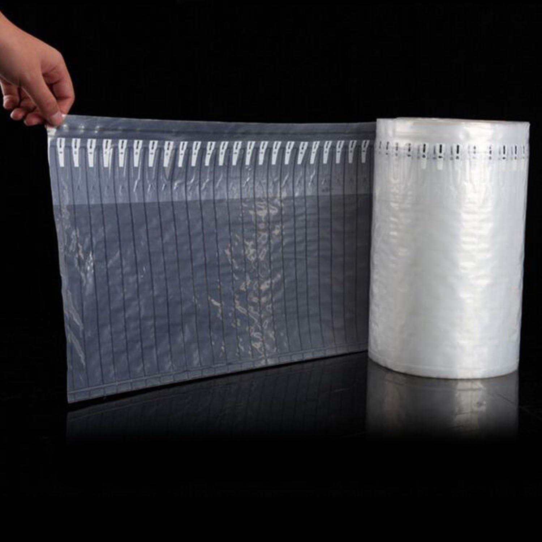 logei/® Rolle Verpackung Schutz Aufblasbare Taschen Luftpolster Luftpolsterfolie Lufts/äule sto/ßfeste Folie Noppenfolie Verpackungsmaterial 30CM*20M