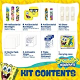 Spongebob First Aid Kit for Kids with Fun Shaped