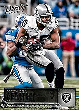 Football NFL 2016 Panini Prestige  143 Michael Crabtree  143 NM+ Raiders ec7c8b35a