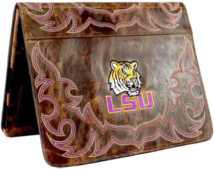 One Size Gameday Boots NCAA LSU Tigers LSU-IP003Louisana State University iPad 2 Cover Brass