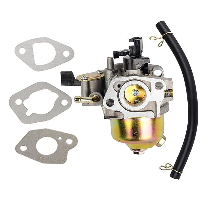 Filtro de carburador Beehive con Junta de Repuesto 16100-ZE6-W01 para Motor Honda GXV120 GXV140 GXV160 HR194 HR195 HR214 HRA214 HR215 HR216 HRA216 ...