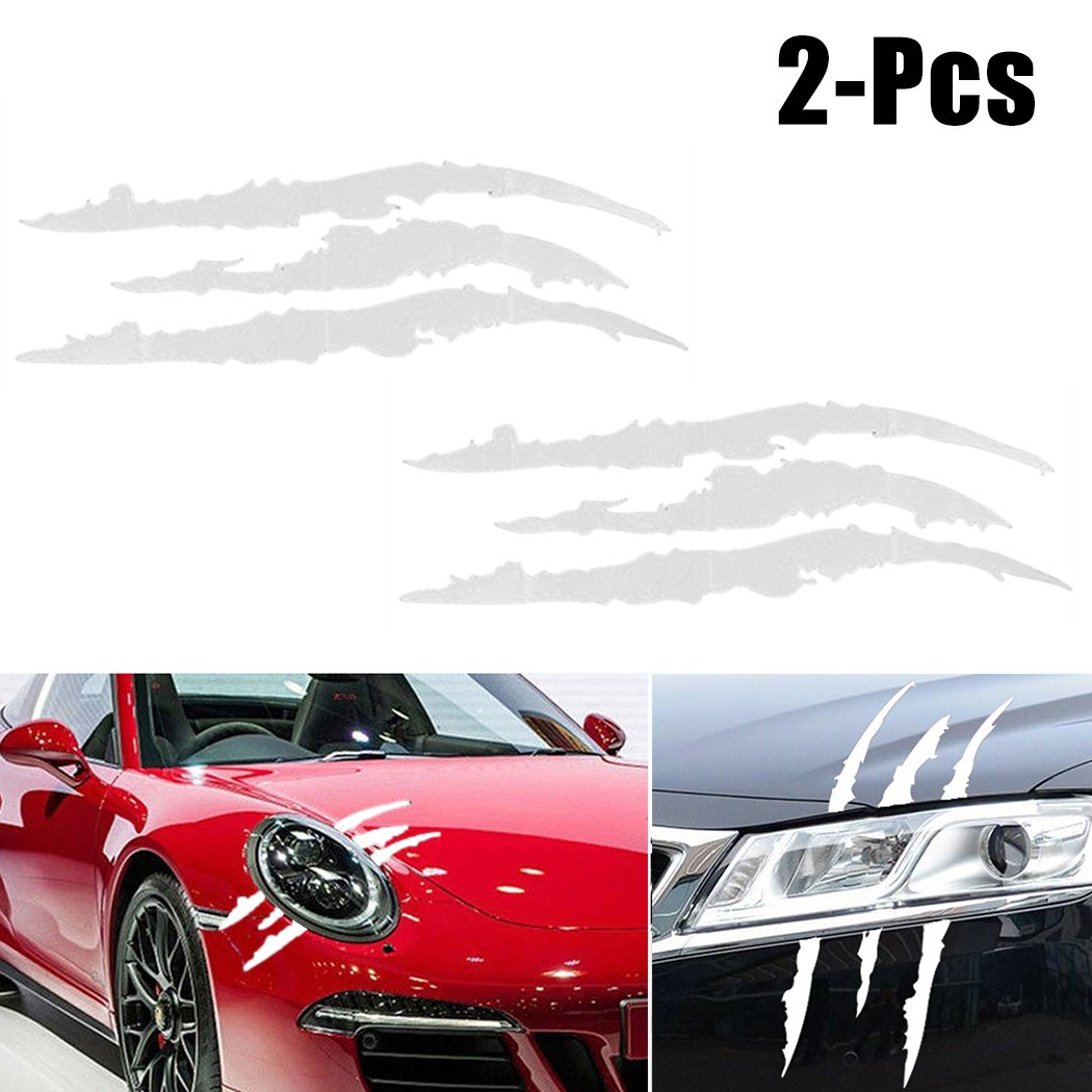 Amazon com fansport 2 sheets claw decal decal claw mark car decals decals for cars claw marks car decal claw mark decal computers accessories