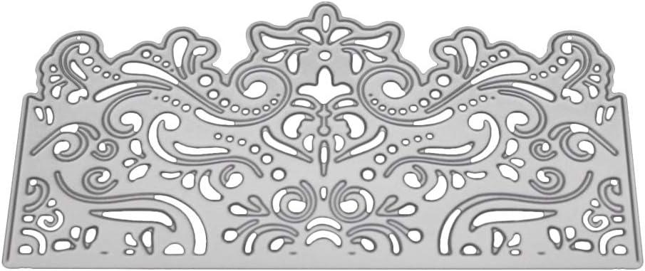 bricolaje tarjetas de papel para /álbumes de recortes marco de metal herramienta de plantilla para grabar en relieve troquel de corte Kuizhiren1 troqueles de metal para troquelado