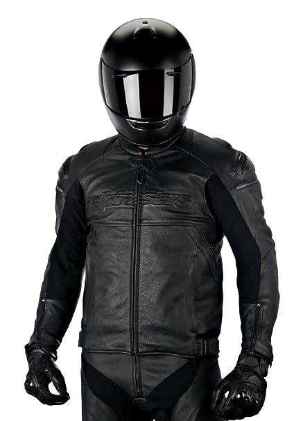 Alpinestars Leather Jacket >> Amazon Com Alpinestars Black Shadow Hades Leather Jacket Gender