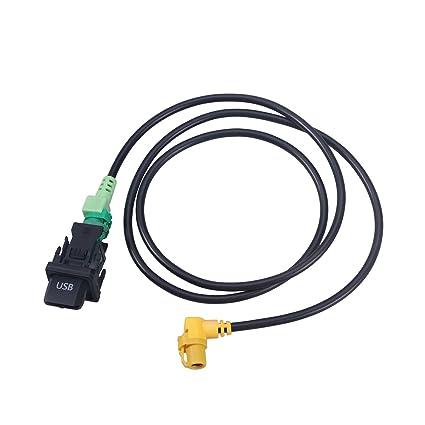 vw mk5 radio wiring cables 12 ferienwohnung koblenz guels de \u2022amazon com oulii usb switch cable kit for vw golf jetta mk5 mk6 rh amazon com