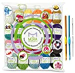 Premium Value Yarn Pack - 24 Acrylic...