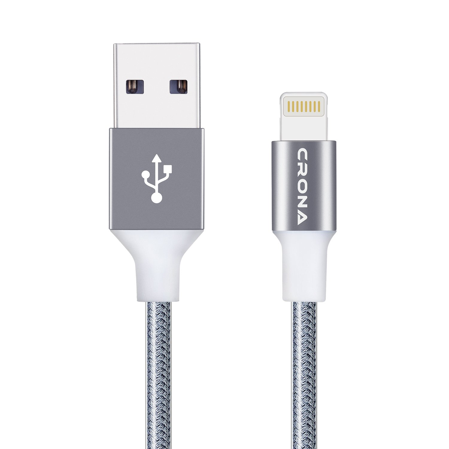 Amazon.com: CRONA Lightning Cables apple,iPhone Charging Cable Nylon ...