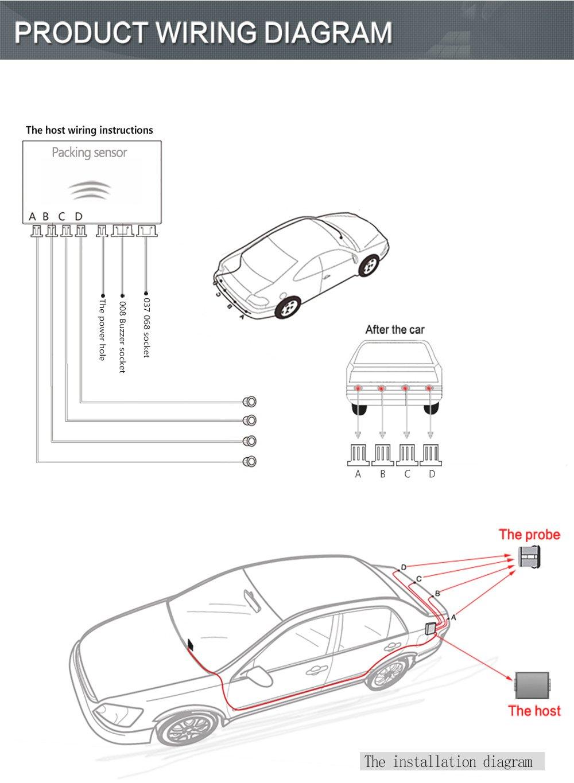 amusing parking sensor wiring diagram pictures