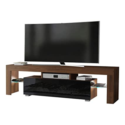 Amazon.com: Concept Muebles TV Stand Milano 160 / Modern LED TV ...