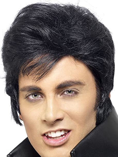 Perruque Elvis Presley homme: Amazon.fr: