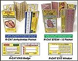 R-CAT 2nd Edition Bundle : Arrhythmia + STEMI + Window + Badge