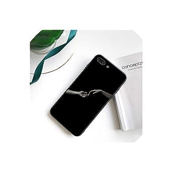 Amazon.com: Vintage Plaster Aesthetic Art Black Phone Cover ...