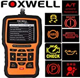 Foxwell NT510 Scanner for ALFA ROMEO 166 OBD2 Diagnostic Scan Tool Check Engine Light, Oil Service Reset, ABS, SRS, DPF, EPB, Airbag