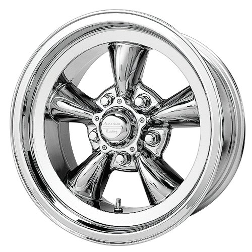 chrome american racing wheels - 2