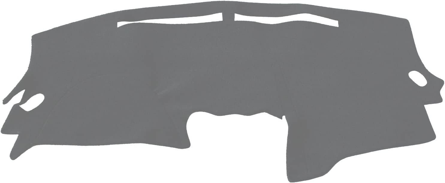 Hex Autoparts Dash Cover Mat Dashboard Pad for Nissan Altima 2007 2008 2009 2010 2011 2012 Black