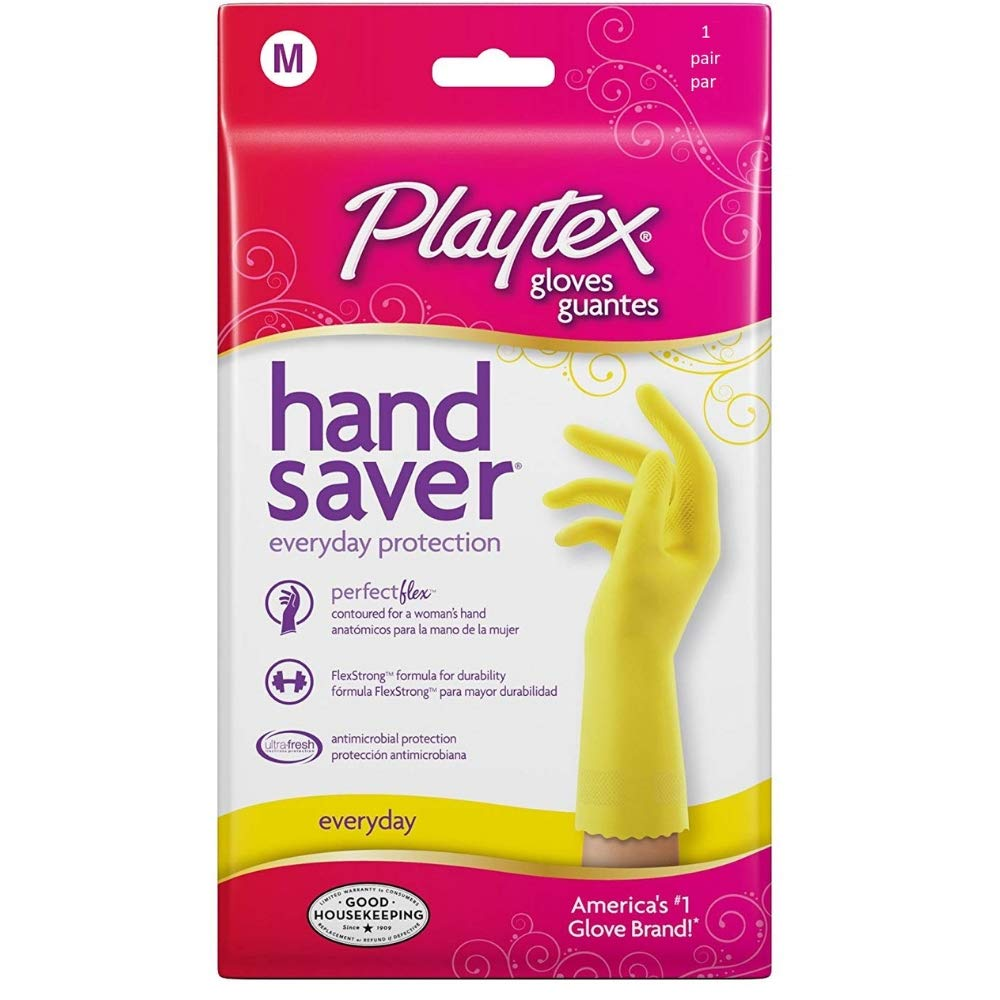 Hand Saver Glove Med by Playtex