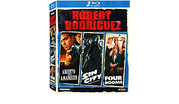 Pack Robert Rodriguez [Blu-ray]: Amazon.es: George Clooney, Quentin Tarantino, Harvey Keitel, Juliette Lewis, Ernest Liu, Salma Hayek, Bruce Willis, Mickey Rourke, Clive Owen, Benicio Del Toro, Jessica Alba, Rosario Dawson, Tim Roth,