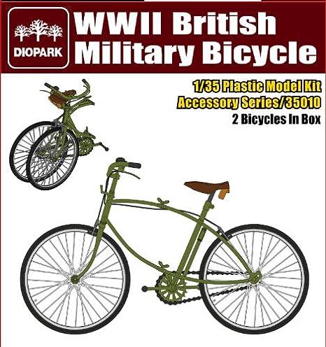 DIOPARK (diodo Park) 1/35 [DP35010] bicicleta Segunda Guerra Mundial brit?nica (jap?n importaci?n): Amazon.es: Juguetes y juegos