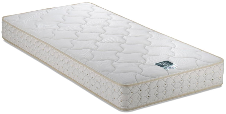 フランスベッド マットレス ホワイト色 ワイドシングルロングサイズ ZT-030 38492400 B074FZSVF9 ワイドシングルロングサイズ ワイドシングルロングサイズ