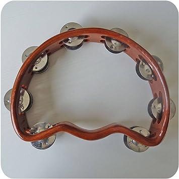 Schellenring Tambourine Tamburin Holz Tamborin Instrument Percussion