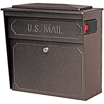 Mail Boss 7418 High Security Steel Locking Wall Mounted