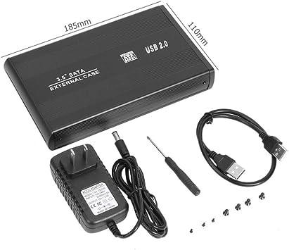 SUNDELLAO 2,5/3,5 Pulgadas USB 3.0 a SATA SSD Puerto Caja para ...