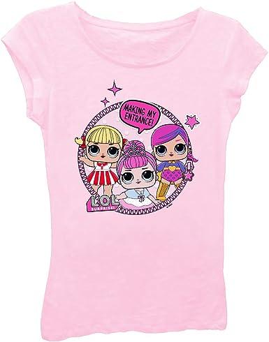 L.O.L. ¡Sorpresa! Camisa de juguete para niñas – LOL Surprise Tee – Lil Outrageous Littles playera - Rosa - Small: Amazon.es: Ropa y accesorios