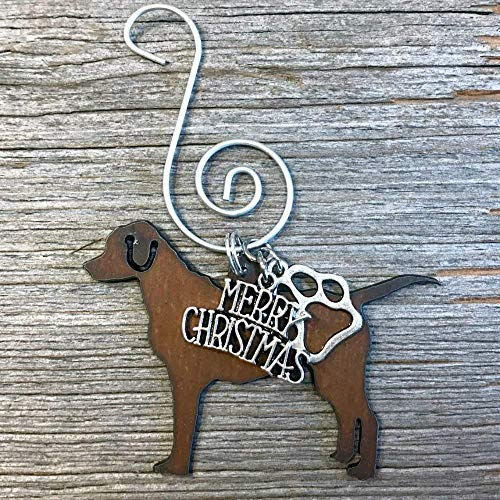 POINTER, LAB, or LABRADOR RETRIEVER Christmas Ornament, Dog Lover Gift, Gift for Dog Mom, Pet Memorial, Dog Lovers Gifts