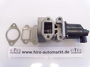 Agr Ventil Abgasrückführung Opel Gm Inkl Dichtungen 1 7 Diesel Neu Auto